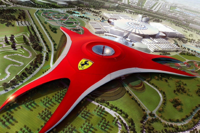 Dubai Ferrari Tour Package