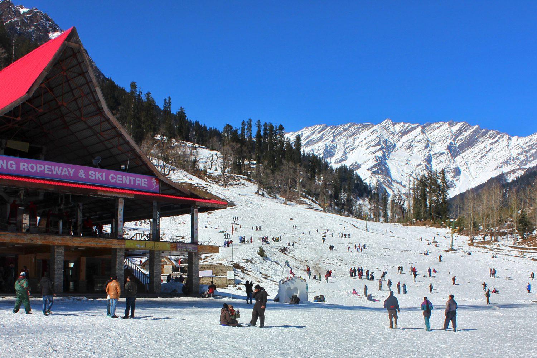 Solang Ski Centre Himachal Tour Package
