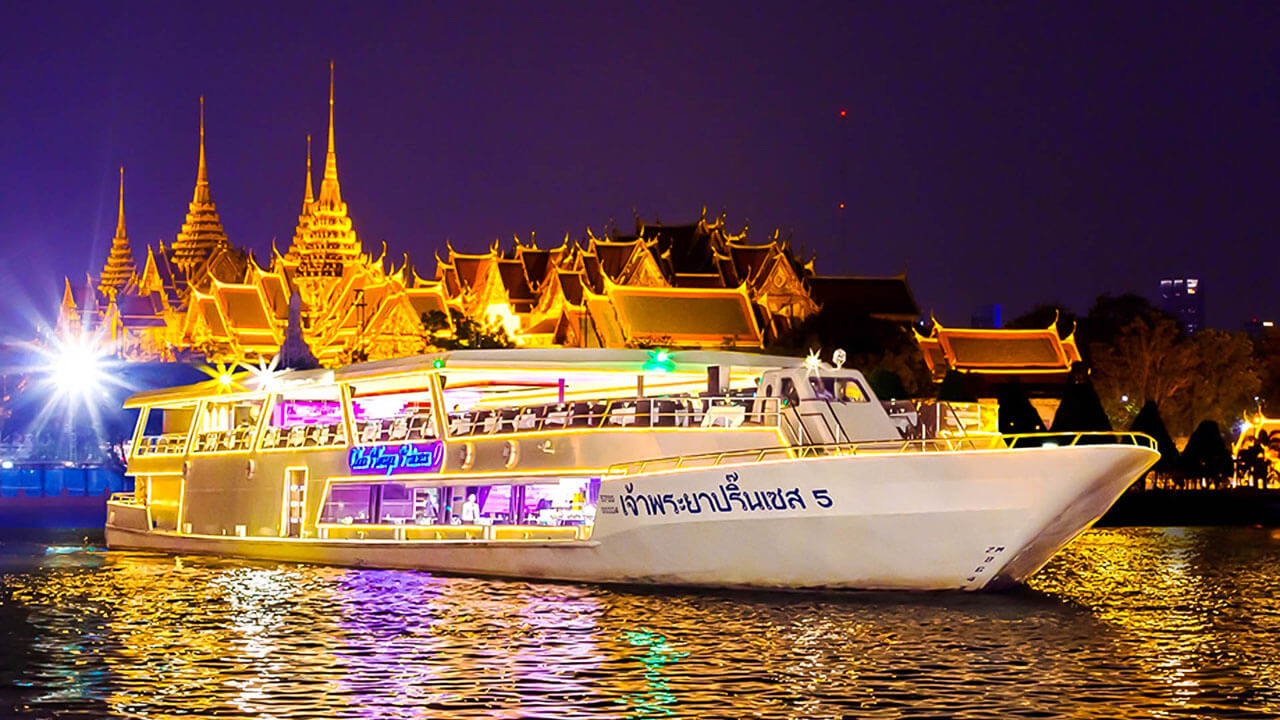 Dinner Cruise by Chaophraya Princess Bankok Tour Package